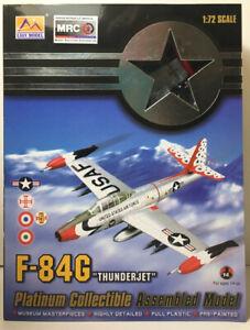 MRC 1/72 Easy Model F-84G-10-RE Portugal Air Force 36804 Thunderjet Airplane