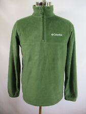 F1855  Men's COLUMBIA Half-Zip Fleece Jacket Size S