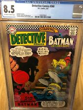 DETECTIVE COMICS #360 CGC 8.5 OFF-WHITE TO WHITE PAGES BATMAN ROBIN