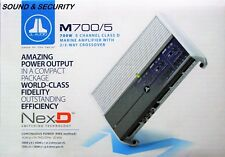 "JL AUDIO M700/5 5-Channel 700 WATTS Class D Marine System Amplifier ""BRANDNEW'"