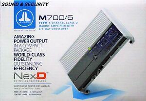 "JL AUDIO M700/5 5-Channel 700 WATTS Class D Marine System Amplifier ""BRANDNEW'"