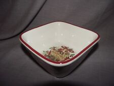 "Longaberger Nature's Garland 5"" Square Vegetable/Nut/Candy Bowl"