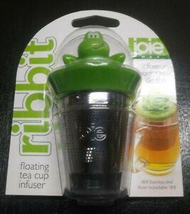 Joie Ribbit Frog Tea Cup Infuser ~ NEW