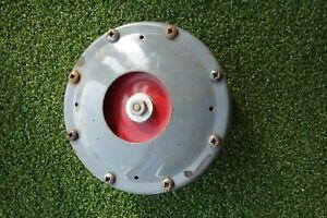 VINTAGE KLAXON 5 INCH DIAMETER CAR HORN & BRACKET