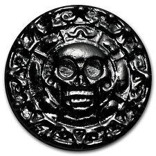 100 gram Silver Round - Yeager Poured Silver (Plata Muerta) - SKU #102497