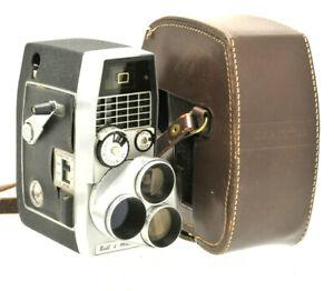 Vintage Bell & Howell Sportster IV 8mm Cine Camera