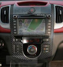 Auto Center Fascia Air Vent Carbon Decal Sticker For KIA 2010-2013 Cerato Koup
