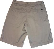 "Mens Volcom Chino Shorts Size 34 EUC 10.5"" Inseam"