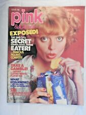 Pink & Tina Magazine #58 - 5th May 1974 Donny Osmond Alvin Stardust posters +++