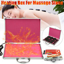 110V-220V Hot Stones Heating Box Warmer Massage For Lava Spa Rock Basalt Body