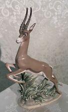 Vintage Lladro' Gazelle Genuine lladro Porcelain No. 5271 Original Box.