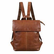 """STILORD """"Charlie"""" Vintage Leder Rucksack Braun  Daypack für 13,3 Zoll Laptop"""