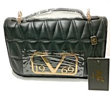 Tragetasche Versace 19V69 Handtasche Kunstleder schwarz Kettengurt B24xH17xT9cm