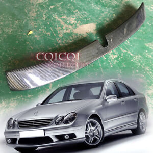 Carbon Fiber MERCEDES BENZ 2001-2007 W203 C class Sedan L type roof spoiler ◎
