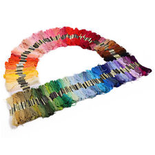 200 Colors Egyptian Cross Stitch Cotton Sewing Skeins Embroidery Thread Floss