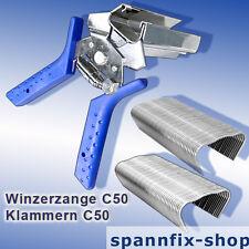 Winzerzange C50 Drahtzangen Drahtklammern Ringklammern Klammern C50 Rapid LIG150