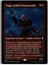 FOIL Toggo, Goblin Weaponsmith (Foil Etched) | MtG Magic Commander Legends | NM