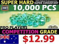 7-8mm gel balls PRO Grade GREEN BEAST Comp HARDENED 10,000 gel ball gun ammo 💥