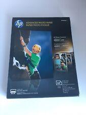"HP Advanced Photo Paper Glossy 5"" x 7"" Q8690A Inkjet Photo 60 Sheets UNOPENED"