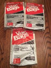 LOT OF 6 HOOVER FUTURA & SPECTRUM TYPE S VACUUM BAGS NEW /SEALED