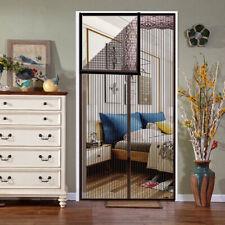 Fliegennetz Fliegengitter Tür Türvorhang mit Magnet Schließsystem Mückenschutz