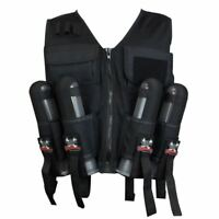 Maddog Lightweight Paintball Sport Vest Black Milsim