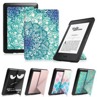 For All-New Amazon Kindle Paperwhite 2012-2016 Origami Case Leather Cover Stand