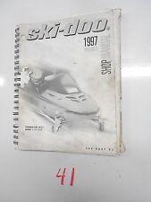 1997 SKI-DOO SHOP SERVICE MANUAL FORMULA 3 III LT MACH 1 Z ZLT 484 0647 02