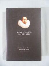 A Companion to Lope De Vega Ed. by Alexander Samson 2010 HC w/ DJ