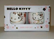 Hello Kitty Cherry Blossom Kimono Sake Cup Set