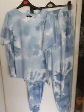 Tie Dye Lounge Suit Size 16/18