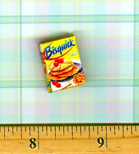 DOLLHOUSE Miniatures Size Modern Biscuit Mix Box
