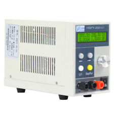 Digital Programmable adjustable DC power supply CUP time tracking 200V/1A