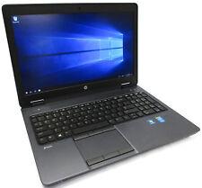 """HP Zbook 15 15.6"""" Core i7-4800MQ 2.7GHz 256GB SSD 4GB K1100M BAD FINGERPRINT"""