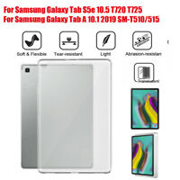 For Samsung Galaxy Tab S5e 10.5 T720 T725 TPU Gel Silicone Matte Case Cover