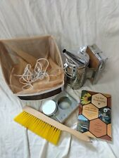 Bee Keeping Smoker, Mesh, etc Lot Excellent condition.