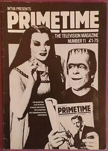 Vintage PrimeTime TV Magazine #11 Summer 1986 - The Munsters Special Feature!