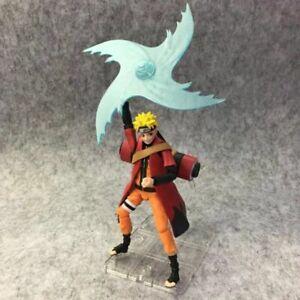 Naruto Uzumaki Rasengan Shuurikan Action Figure Toy Model PVC Doll Sage Mode
