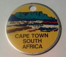 1969 CAPE TOWN SOUTH AFRICA ALUMINUM ADVERTISING CHIP GREAT FOR COLLECTION 1969!