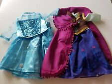 American Girl size Frozen Anna and Elsa dresses 18in Doll