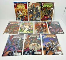 Lot of 10 NEW AVENGERS Comic Books #1 8 19 20 22 29 31 - 34 Marvel 2010 - 2012