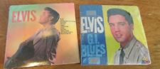 LOT OF 2 Chu-Bops #44-45 Elvis Presley GI Blues Collectible 1980s Mini-LP Cover!