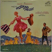 Sound of Music Movie Soundtrack Vinyl LP & Booklet  [RCA Victor LOVD-2005] Mono