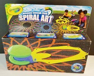 Crayola Washable Sidewalk Chalk Spiral Art New in box