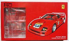 """FUJIMI 1/24 Ferrari F40 w/ """"Ferrari 60th anniversary relay decal"""" RS-1 model kit"""