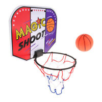 INDOOR MINI BASKETBALL HOOP RING BACKBOARDS KITS DOOR WALL MOUNT TOYS FOR KIDS M