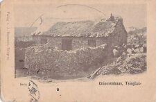 K 383 -Tsingtau - Chinesenhaus, 1913 gelaufen