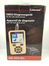 Car Diagnosis: Obd2 Diagnostic Tool OD-350.dis for VW, Audi, Skoda and Seat