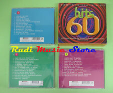 CD HITS OF THE 60'S BOX 3 CD compilation 1999 FATS DOMINO DRIFTERS TROGGS (C28)