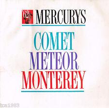 1962 Mercury MONTEREY/COMET/METEOR Brochure / Pamphlet / Catalog: Colony Park